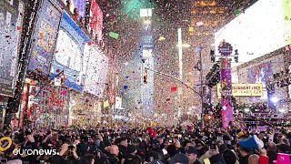Celebrações de Ano Novo em destaque nas Imagens da Semana