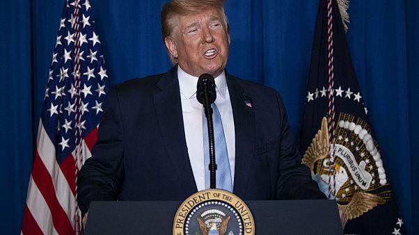 Trump: Savaş başlatmak için değil, bir savaşı durdurmak için bu adımı attık