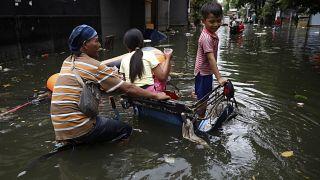 Még a víz az úr Indonéziában