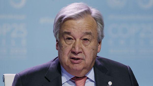 الأمين العام للأمم المتحدة أنطونيو غوتيريش، 11 ديسمبر 2019
