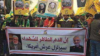 Ιρακ: Νεκρώσιμη ακολουθία για τον Σουλεϊμανί