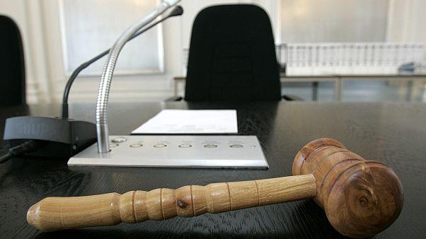 في إحدى المحاكم في ألمانيا