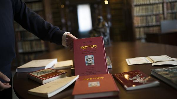 İspanya Kraliyet Akademisi Kütüphanesi'ndeki Ladino dilinde kitaplar