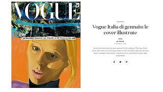 Vogue Italia: Magazine swaps photos for illustrations in green gesture