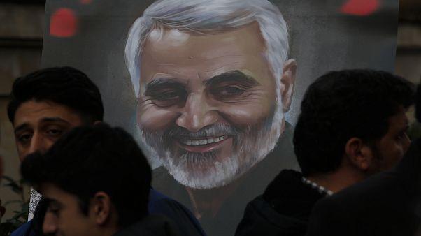 İran Devrim Muhafızları Ordusuna bağlı Kudüs Gücü Komutanı General Kasım Süleymani