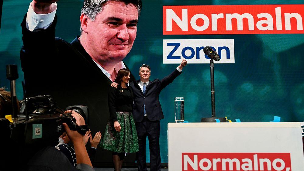 Croatian Social Democrat beats incumbent president in runoff vote