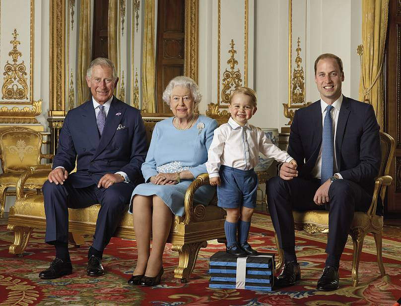 Ranald Mackechnie/Buckingham Sarayı/AP