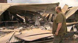 ویرانیهای به جا مانده از آتشسوزی گسترده در استرالیا