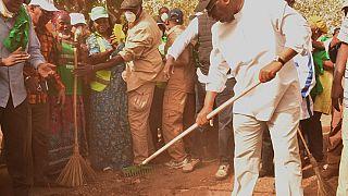 Senegal Cumhurbaşkanı Macky Sall