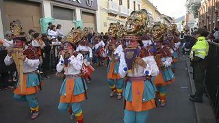 شاهد: استعراض توعوي راقص للحفاظ على الكوكب خلال مهرجان باستو بكولومبيا