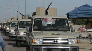 Decenas de muertos en una ofensiva rebelde en Libia antes de la llegada de las tropas turcas
