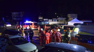 Пьяный водитель сбил туристов