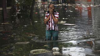 Endonezya'da su baskınları