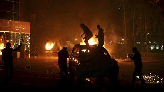 صورة من الأرشيف لمسلحين في العاصمة الليبية في عام 2014