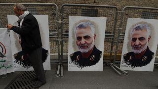 کشته شدن قاسم سلیمانی؛ سه قدرت اروپا بر همکاری برای کاهش تنش در خاور میانه توافق کردند