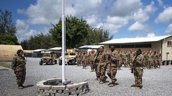 A file photo of the US-Kenyan base at Manda Bay, Kenya