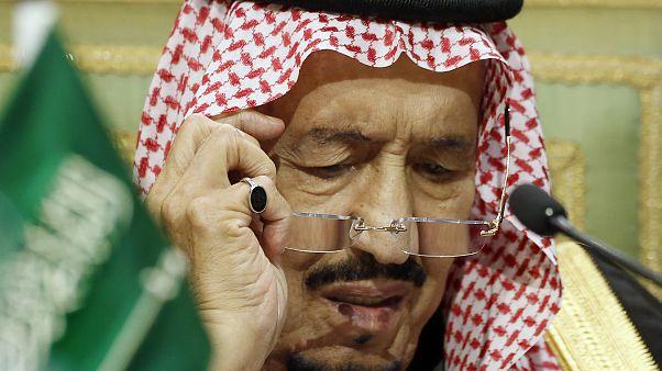 الملك سلمان خلال قمة مجلس التعاون لدول الخليج في كانون الأول/ديسمبر الفائت