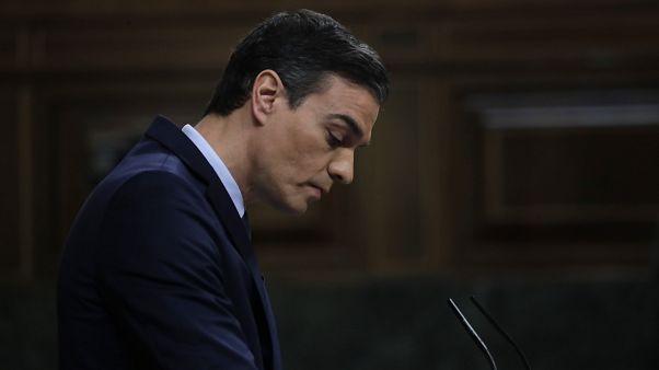 İspanya'da sol koalisyon parlamentodan güvenoyu alamadı