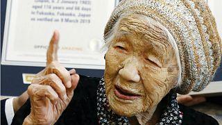 Dünyanın en yaşlı insanı Kane Tanaka - Mart 2019 Arşiv