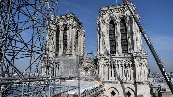Notre Dame cathedral 'not saved yet' warns restoration chief