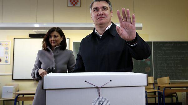 Croatie : Zoran Milanovic en route vers la présidence