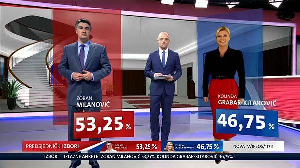 كرواتيا: فوز الاشتراكي الديمقراطي زوران ميلانوفيتش بالانتخابات الرئاسية