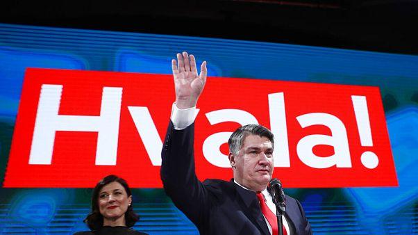 """Milanovic envía un mensaje de """"unidad"""" tras ganar las presidenciales croatas"""
