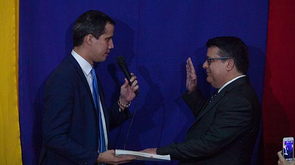 Guaido parlamento başkanı ilan edildi