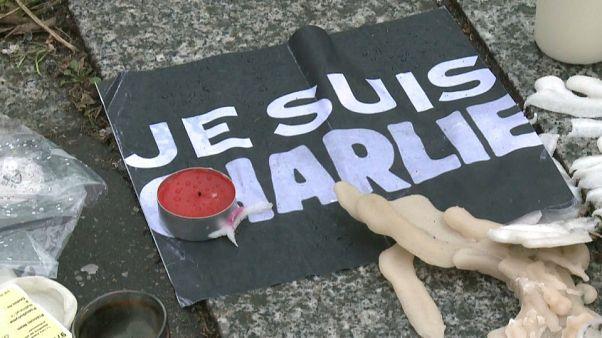 Quinto aniversario del atentado en el semanario satírico francés Charlie Hebdo