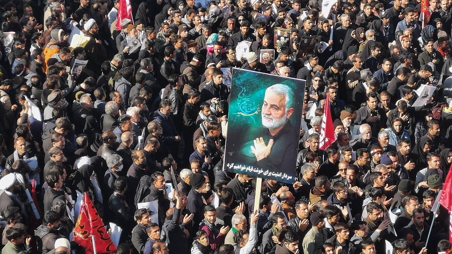 Stampede kills at least 56 at Soleimani funeral procession in Kerman    Euronews
