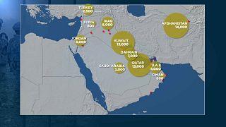 ABD'nin Orta Doğu'da ne kadar askeri var?