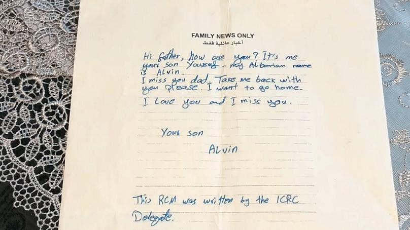 """""""Я люблю тебя и скучаю по тебе. Твой сын Альвин"""""""