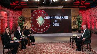 Türkiye Cumhurbaşkanı Recep Tayyip Erdoğan gündeme ilişkin açıklamalarda bulundu