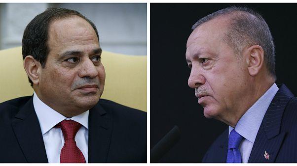 الرئيسان المصري والتركي