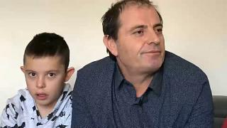 Alvin Berisha was taken to Syria by his Mother for 5 years, his dad was kidnapped whilst trying to save his son in Syria