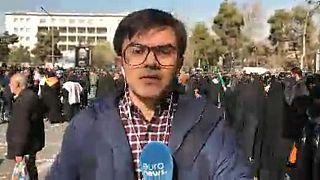 Los iraníes despiden a Qasem Soleimaní