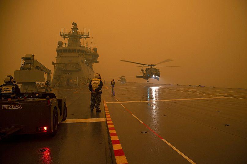 Ministère australien de la Défense | Matelot de 2e classe Thomas Sawtell/ADF via AP