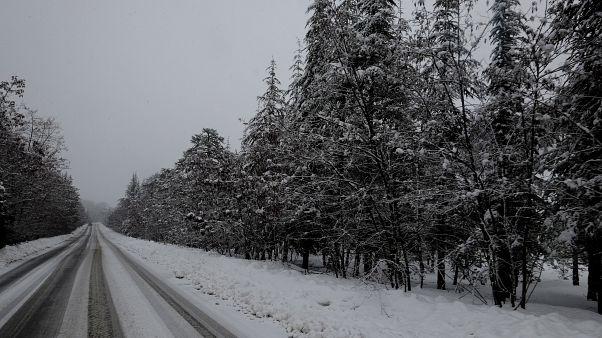 Χιόνια στην Κύπρο