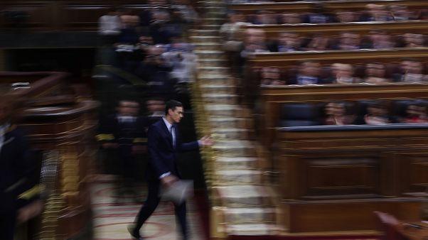 Voto decisivo no parlamento espanhol