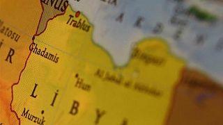 Libya haritası