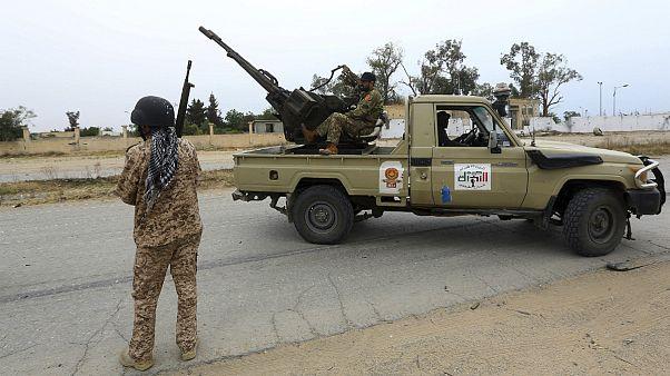نیروهای نظامی وفادار به دولت مرکزی لیبی