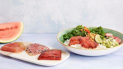 Watermelon steak and not-for-vegans burger launch for Veganuary