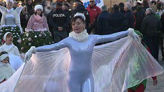 Праздник феи Бефаны в Италии