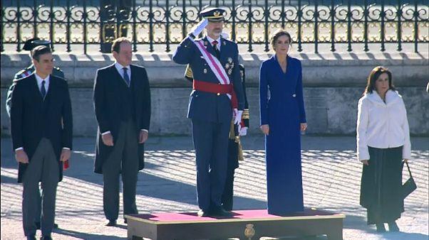 Discreto discurso de Felipe VI en la Pascua Militar antes de la segunda votación de investidura