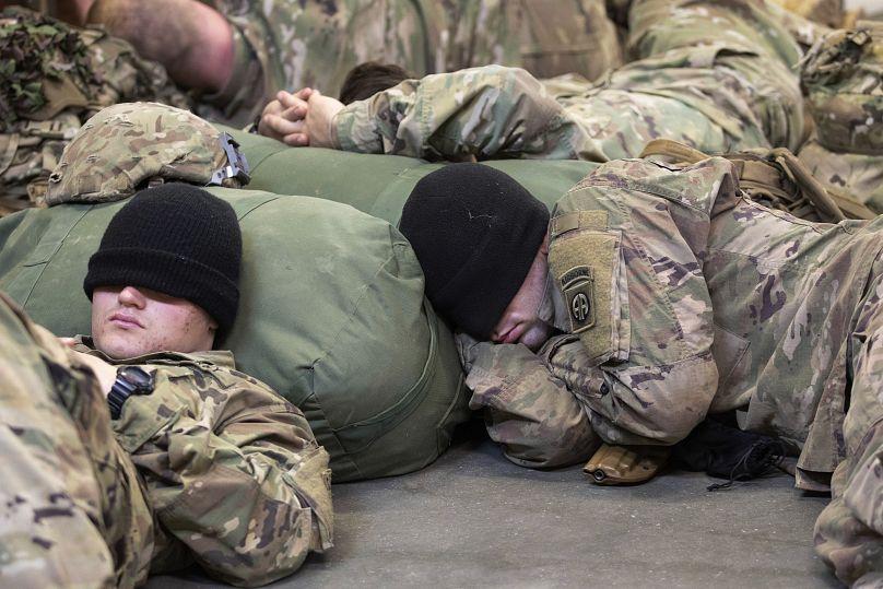 U.S. Army Photo by Master Sgt. Alexander Burnett via AP