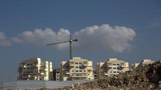 Batı Şeria'da Yahudi yerleşim birimi Modiin Ilit - ARŞİV