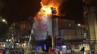 Fire at London's iconic KOKO nightclub