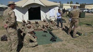 Archiv-Foto Militärausbildung in Erbil