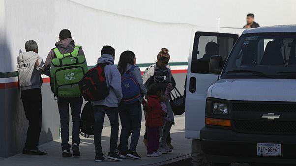 پناهجویان مکزیکی در آمریکا
