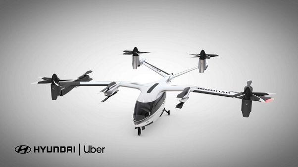 La mobilità alternativa con i taxi volanti di Hyundai e Uber